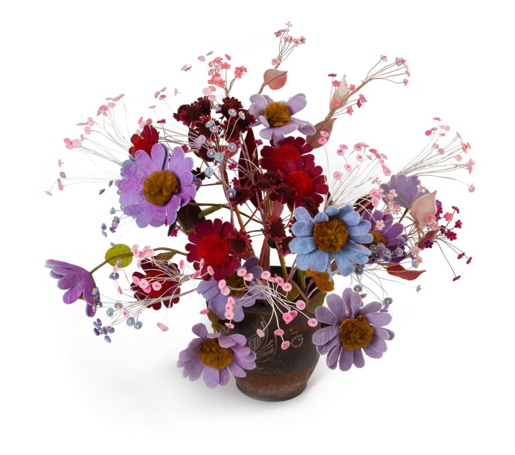 Gerberas violetas