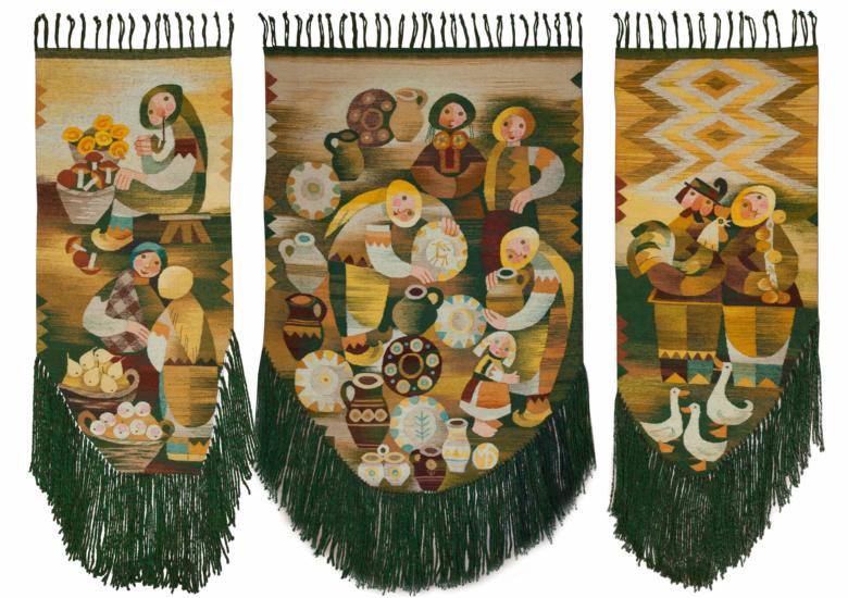 Косівський базар (триптих)