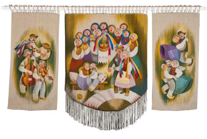 Бойківське весілля (триптих)