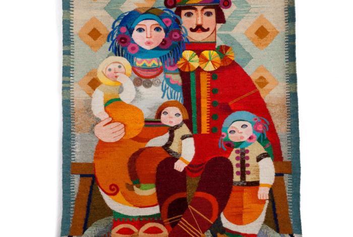 Гуцульська сім'я
