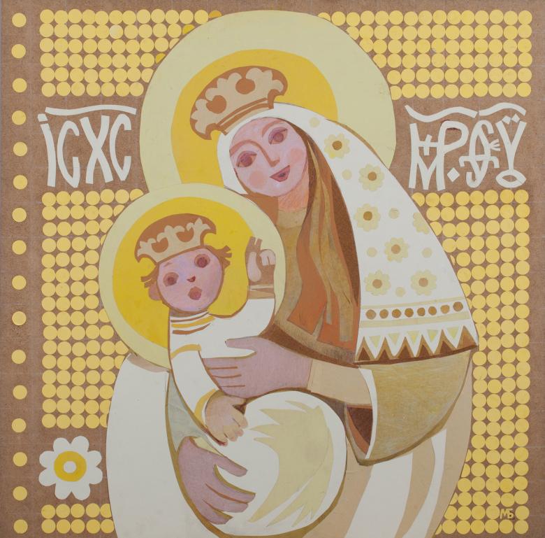 Gottesmutter mit dem Kind