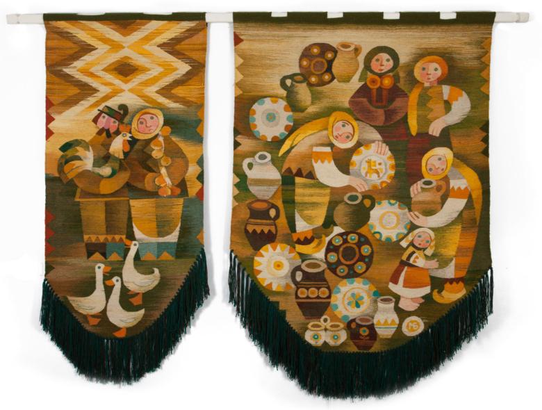 Косівський базар (диптих)