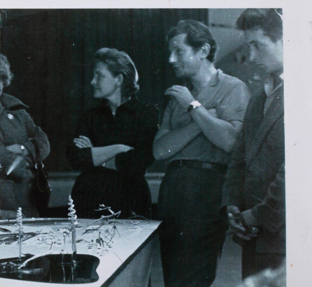 Mykhailo Bilas with Iryna Elizarov