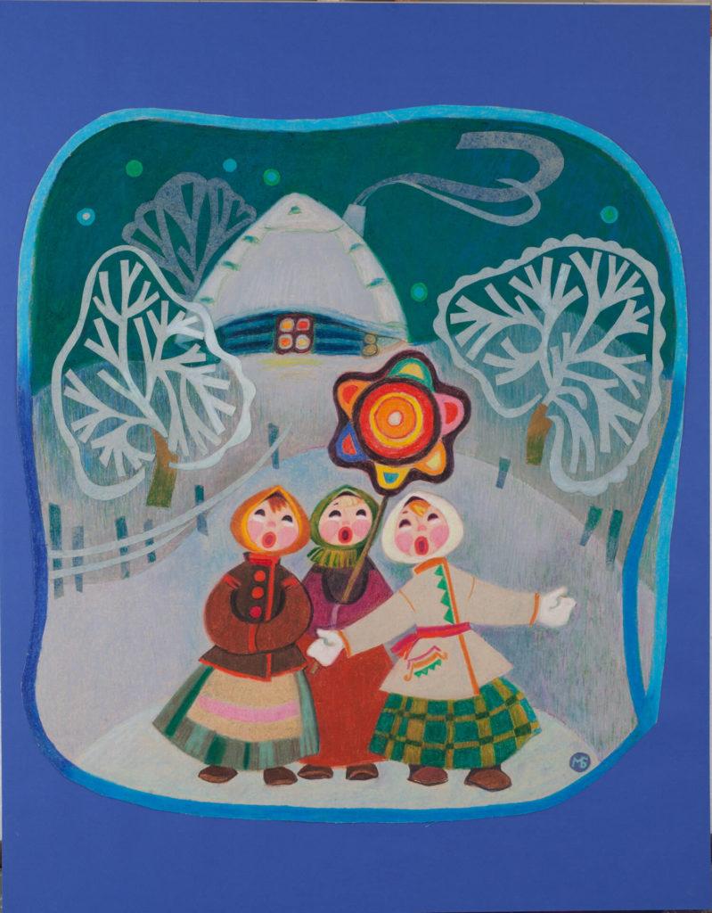 Cantores navideños
