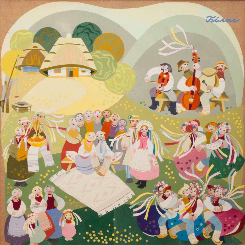 Бойківське весілля (диптих