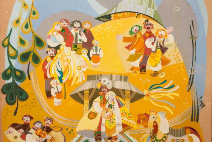 Гуцульське весілля (диптих