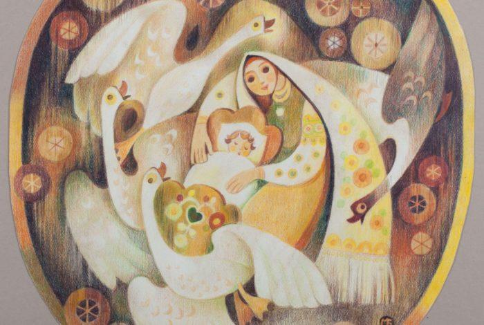 Лебеді материнства