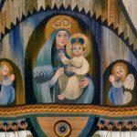 зображення Богородиці з Ісусом Хрестом на руках